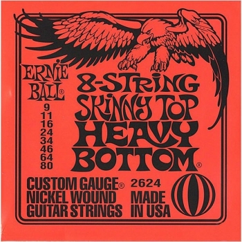 09-80 Ernie Ball 2624 Nickel 8 String